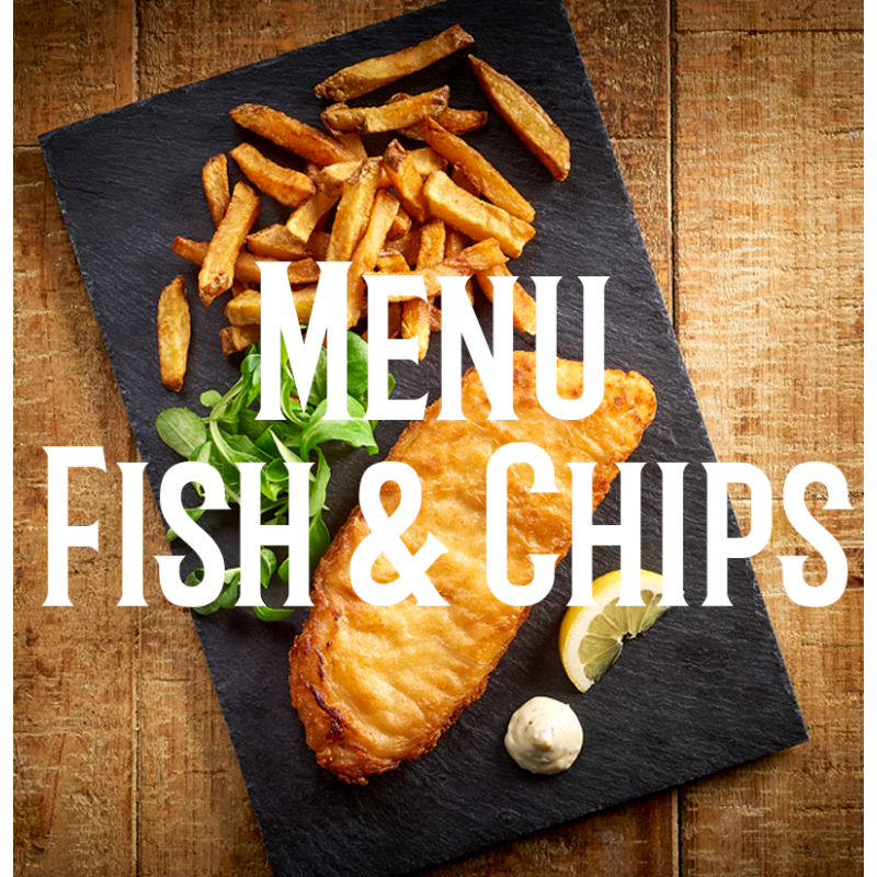 Menu Fish and Chips